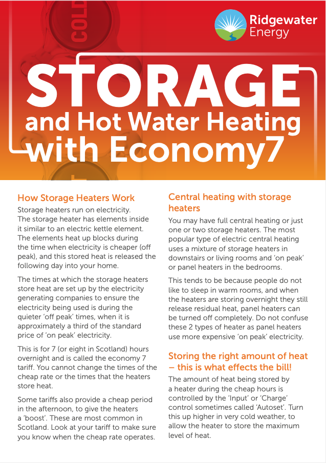 Storage and Hot Water